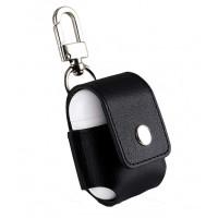 Чехол для AirPods Leather Case (Black)