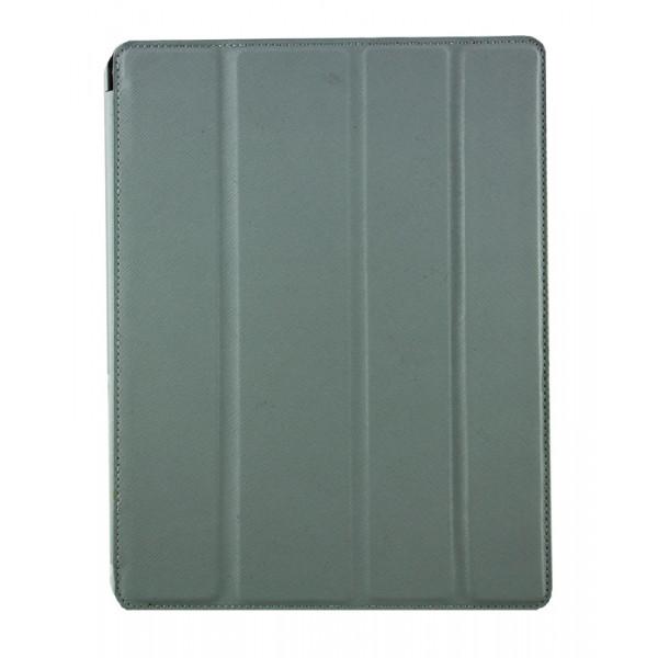 Чехол Книжка для IPad 2/3/4 BELK Cpricorn (Серый) (Преcсованая кожа)
