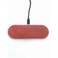 Беспроводная зарядка  Dual Wireless Charger Q21  /red/
