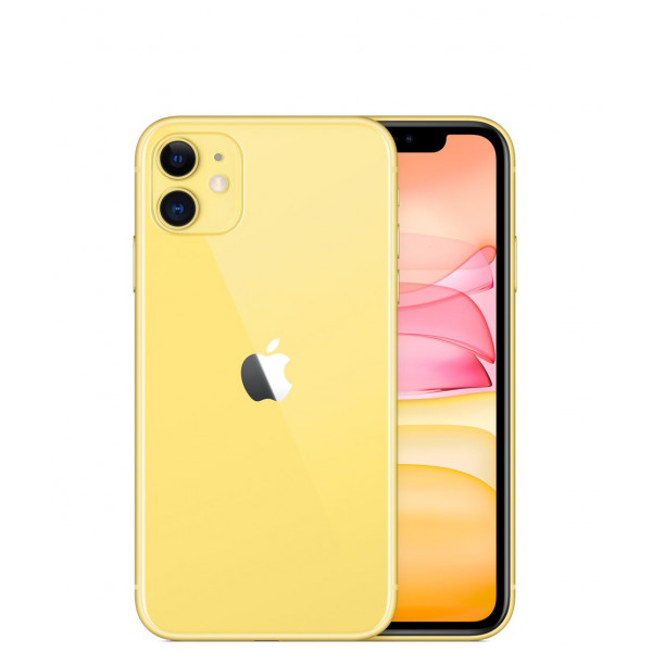 Apple iPhone 11 256GB Dual Sim Yellow (MWNJ2)