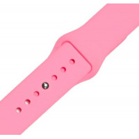 Ремешок-браслет для Apple Watch 38mm Silicone Band (pink )