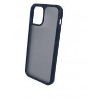Чехол iPhone 12 Pro Max iPaky Carbon Case (Black Transperent)