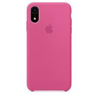 Чехол Накладка для iPhone Xr Apple Silicon Case (Dragon Fruit) (Полиулетан)