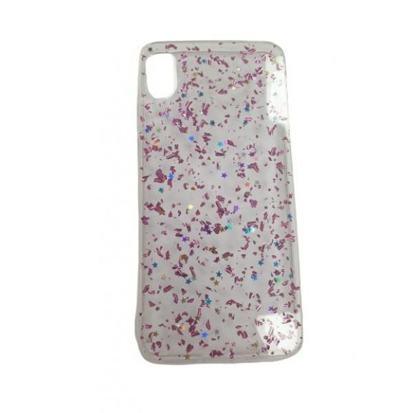 Чехол накладка iPhone Xs Max  Magic Brilliance (pink)