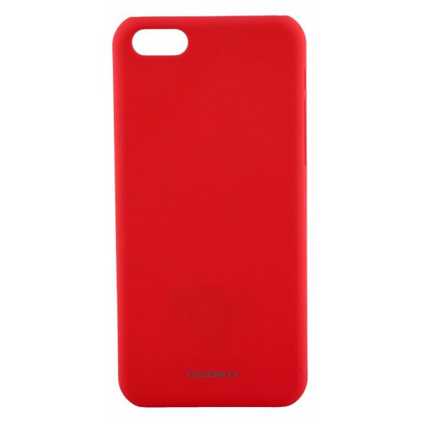 Чехол Накладка для iPhone 5C NUOKU FRESH (Розовый) (Пластик)