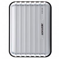 Портативное зарядное устройство Momax Power Bank iPower GO Mini+Luggage Dual USB 13200 mAh (silver)