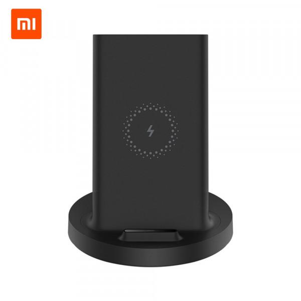 Беспроводная зарядка Xiaomi Vertical Wireless Charger Stand 20W (Black)