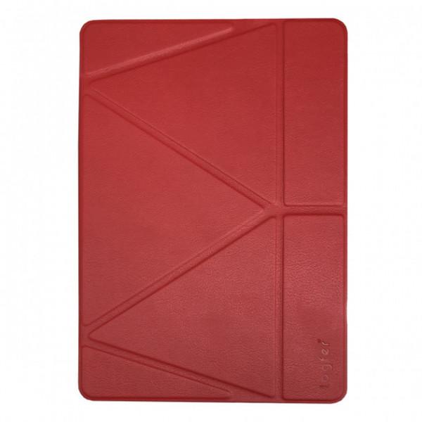 Чехол книжка для iPad Air 10.9 (2020) Origami Leather Case Pencil Groove (Red)