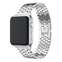 Ремешок-браслет для Apple Watch 42mm/44mm Honeycombs Metall (Silver)