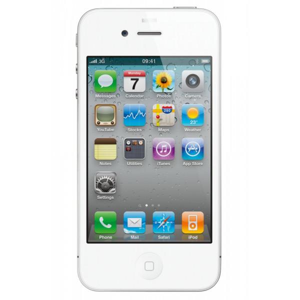 Apple iPhone 4 16GB (White)  (Refurbished)