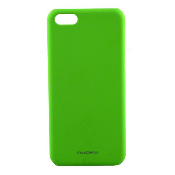 Чехол Накладка для iPhone 5C NUOKU FRESH (Зелёный) (Пластик)