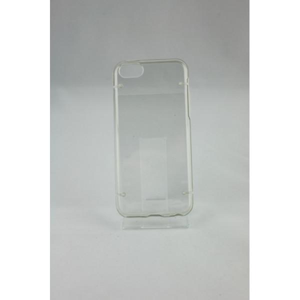 Чехол Накладка для iPhone 4/4S Waterproof NEW (прозрачный) (силикон)
