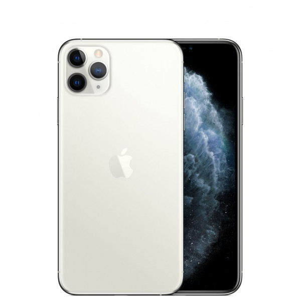 Apple iPhone 11 Pro Max 64GB (Silver) (MWH02)