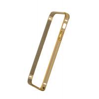 Бампер для iPhone 5/5S COTEetCL Claps K (Золотой) (Алюминий)