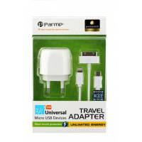 Сетевое зарядное устройство Unplug Universal (2*USB) (Белый)