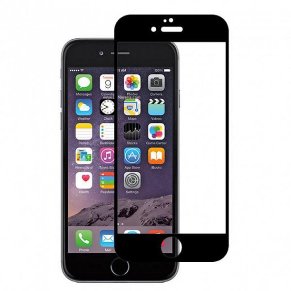 Защитное стекло 5D iPhone 6/6S Plus (black)
