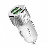 Автомобильное зарядное устройство Rock Sitor Plus (white)