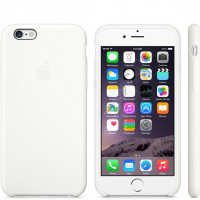 Чехол Накладка для iPhone 5/5S/SE Apple Silicone Case High Copy (Antique White) (Полиулетан)