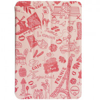 Чехол Книжка для iPad Air 2 OZAKI Travel Case Paris (Светло розовый) (Пресованая кожа)
