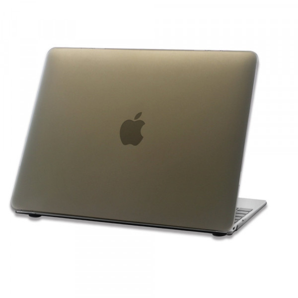 Чехол накладка MacBook 12 DDC Case (Матовый/Черный) (Пластик)