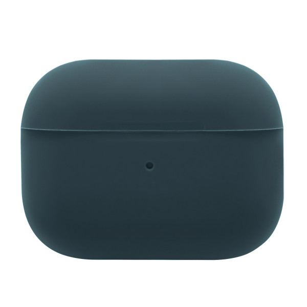 Чехол для AirPods Pro Silicone slim Case (blue cobalt)