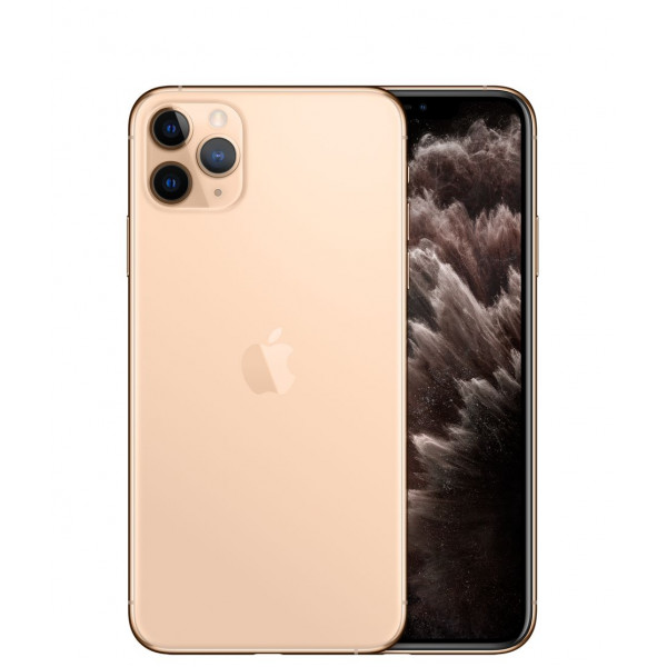 Apple iPhone 11 Pro Max 256GB (Gold) (MWH62)