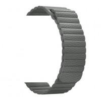 Ремешок для Apple Watch Leather Loop 38mm (charcoal gray)