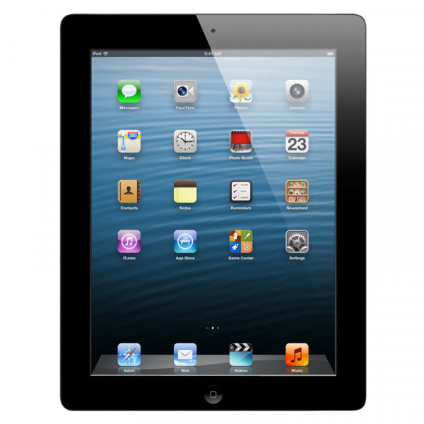 Apple iPad 4 Wi-Fi + LTE 32 GB Black (MD523)