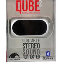 Акустика QUBE2 Portable Stereo Sound Perfected (Bluetooth) (серебристый)