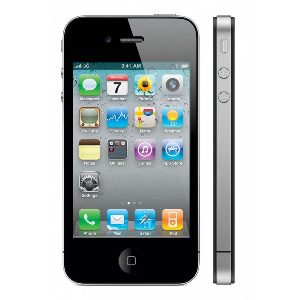 Apple iPhone 4 8GB (Black)  (Refurbished)