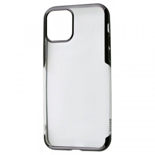 Чехол Накладка для iPhone 11 Pro Max Baseus Shining Case (Black) (Полиулетан)