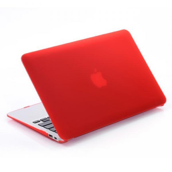 Чехол накладка MacBook Air 11.6 Slim Case (Красный) (Матовый)