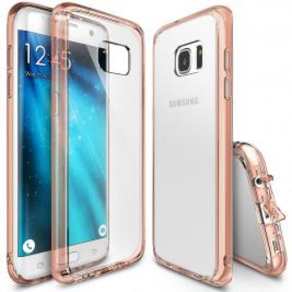 Чехол накладка Baseus  for Samsung S7 (Rose Gold)