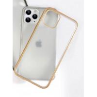 Чехол Накладка для iPhone 11 Pro Shining Matte Case (gold)