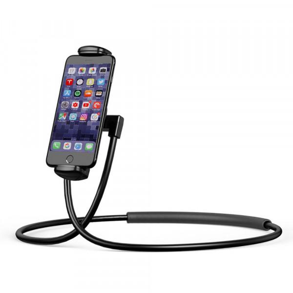 Держатель для iPhone/iPad Baseus Necklace Lazy Bracket (Черный)
