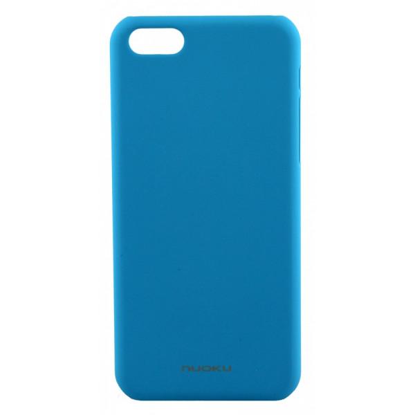 Чехол Накладка для iPhone 5C NUOKU FRESH (Голубой ) (Пластик)