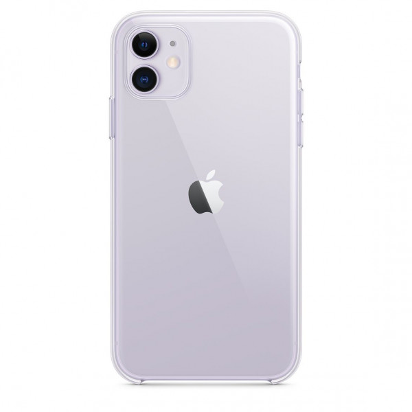 Чехол Накладка для iPhone 11 Apple Clear Case (Transperent) (Полиулетан)
