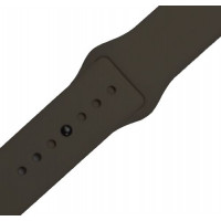 Ремешок-браслет для Apple Watch 42mm Silicone Band (cocoa)