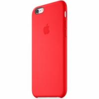 Чехол Накладка для iPhone 6 Plus Apple Silicone Case High Copy (Красный) (Силикон)
