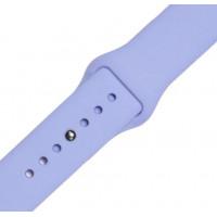 Ремешок-браслет для Apple Watch 38mm Silicone Band (lilac)