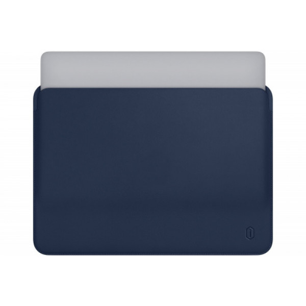 Чехол-конверт MacBook 15.4 Wiwu Skin Pro Leather (blue)