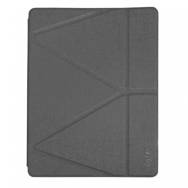 Чехол книжка iPad Pro 11 (2020) Origami Case Leather Embossing (gray)