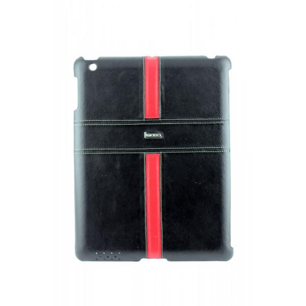 Чехол Накладка для iPad 2/3/4 i Mobo (черный) (кожа)