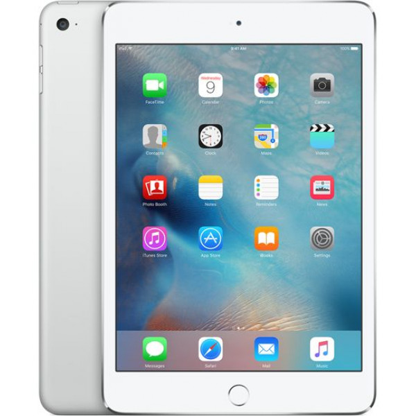 Apple iPad mini 4 Wi-Fi 64GB + LTE Silver (MK732RK/A)