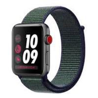 Apple Watch Nike+ Series 3 GPS + Cellular 38mm Space Gray Aluminum w. Midnight Fog Nike Sport (MQLA2)