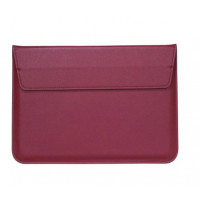 Чехол-конверт MacBook 15 PU seleeve bag (wine red)