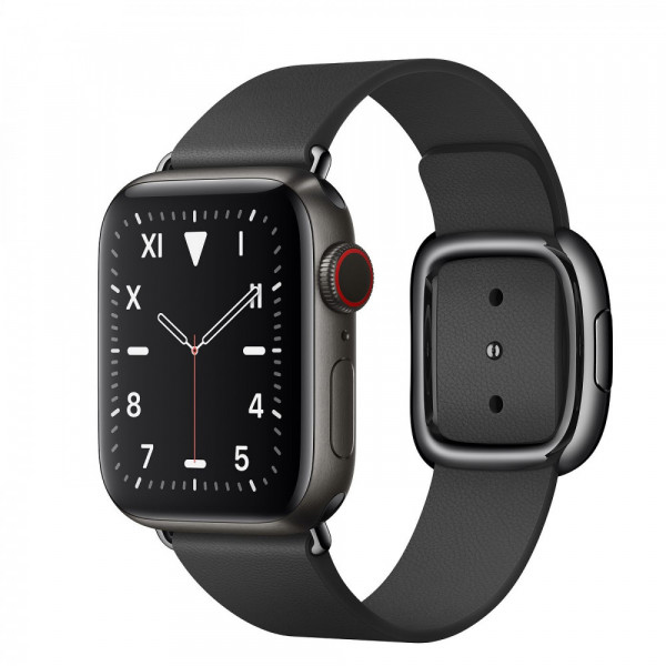 Apple Watch Series 5 GPS  40mm Space Black Titanium Black Modern Buckle (MWQD2)