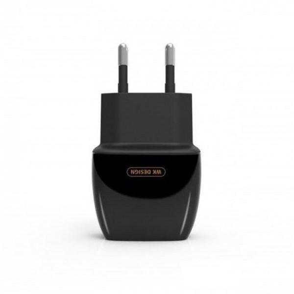 Сетевое зарядное устройство WK 2 USB WP-U05(black