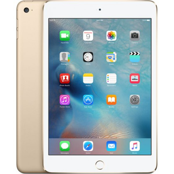 Apple iPad mini 4 Wi-Fi + LTE 128GB Gold (MK782RK/A)