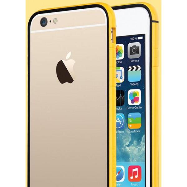Бампер для iPhone 6 Plus TOTU EVOQUE (Золотой) (Пластик)